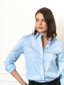 Womens Blue Dawn The Boyfriend Shirt