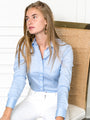 Womens Blue Dawn The Essentials Icon Shirt