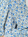 Womens Blue Liberty THE BALLOON SLEEVE SHIRT IN BLUE LIBERTY 2