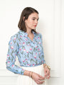 Womens Blue Tulip The Icon Shirt in Blue Tulip 2