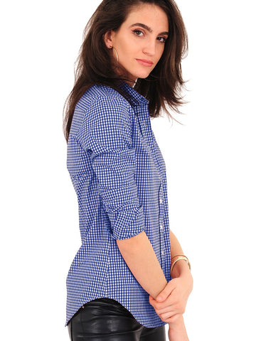 The Gingham Shirt - Blue/White