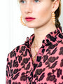 Womens Blush Leopard The Blush Leopard Shirt 2