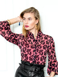 Womens Blush Leopard The Blush Leopard Shirt 4