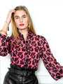 Womens Blush Leopard The Blush Leopard Shirt