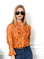 Womens Cinnamon The Lace Shirt