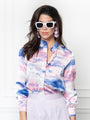 Womens Cloud Pink The Signature Shirt in Cloud Pink