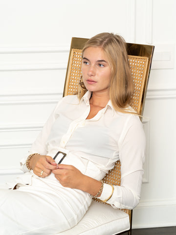 Womens Cream The Signature Shirt