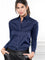 Womens Dark Navy The Essentials Icon Shirt