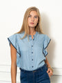 Womens Denim The Spring Shirt