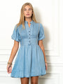 Womens Denim The Mini Shirtdress 2