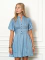 Womens Denim The Mini Shirtdress