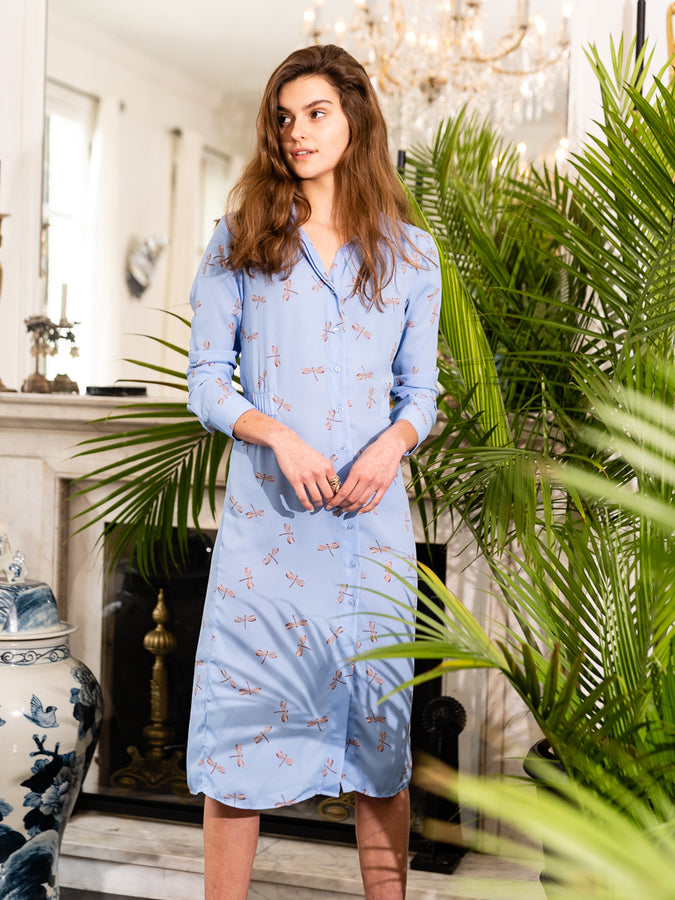 Womens Dragonfly The Signature Shirtdress