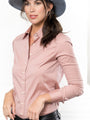 Womens Dusky Rose The Essentials Icon Shirt 2