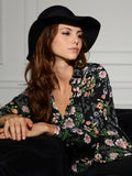 Womens Floral Print The Signature Shirt in November Rain