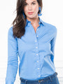 Womens French Blue The Essentials Icon Shirt 2