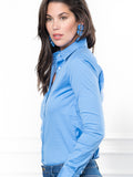 Womens French Blue The Essentials Icon Shirt 4