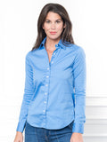 Womens French Blue The Essentials Icon Shirt 7