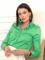 Womens Kelly Green The Essentials Icon Shirt