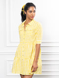 Womens Lemon The Jules Dress in Short Sleeve 4