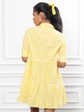 Womens Lemon The Jules Dress in Short Sleeve 6