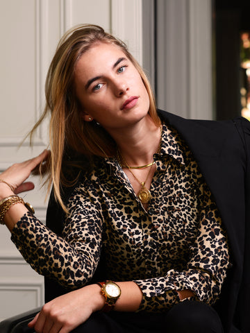Womens Leopard The Signature Shirt