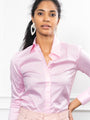 Womens Light Pink The Essentials Icon Shirt 2
