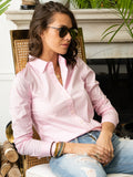 Womens Light Pink The Essentials Icon Shirt 4
