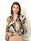 Womens Medallion Print The Signature Shirt in Italian Scarf Print