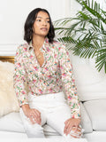 Womens Multi The Icon Shirt in Colorful Flora and Fauna