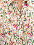 Womens Multi The Icon Shirt in Colorful Flora and Fauna 4