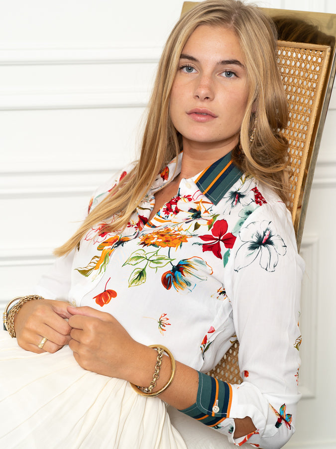 Womens Multi The Icon Shirt in Dolce Vita