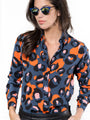 Womens Navy Civet The Signature Shirt in Navy Civet