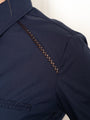 Womens Navy The Icon Shirt in Navy w/ Shoulder Seams 2