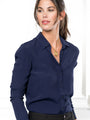 Womens Navy The Signature Shirt 2