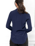 Womens Navy The Signature Shirt 5