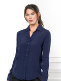 Womens Navy The Signature Shirt 7