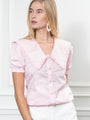 Womens Pale Pink The Lauren Shirt