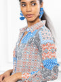 Womens Patchwork The Signature Shirt in Patchwork 2