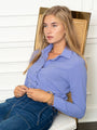 Womens Periwinkle The Signature Shirt