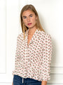Womens Pink Rose The Juliet Shirt in Pink Rose