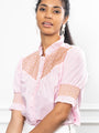Womens Pink The Nicole Shirt 2