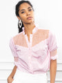 Womens Pink The Nicole Shirt