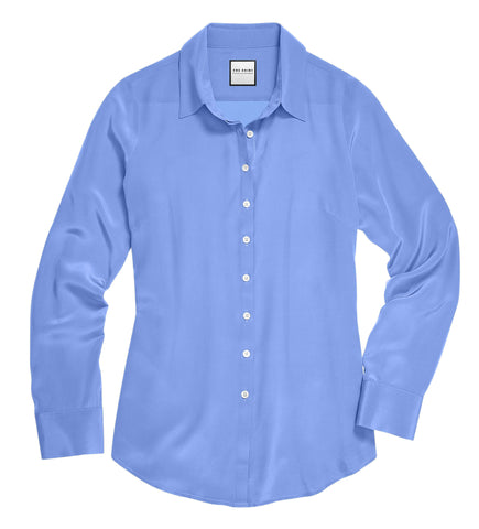 Womens Prussian Blue The Signature Shirt