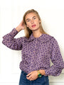 Womens Purple/pink The Josephine Shirt 2