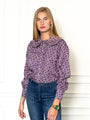 Womens Purple/pink The Josephine Shirt