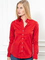 Womens Red The Essentials Icon Shirt 2