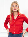 Womens Red The Essentials Icon Shirt