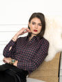Womens Small Tartan The Icon Shirt in Small Tartan 2