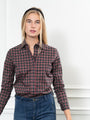 Womens Small Tartan The Icon Shirt in Small Tartan