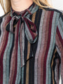 Womens Varadero Stripe The Bow Tie Shirt in Technicolor 2